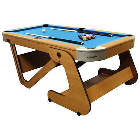Delightful BCE Riley 6 Foot 6 Inch Folding Pool Table
