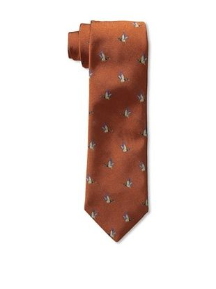 60% OFF Rossovivo Men's Duck Tie, Rust