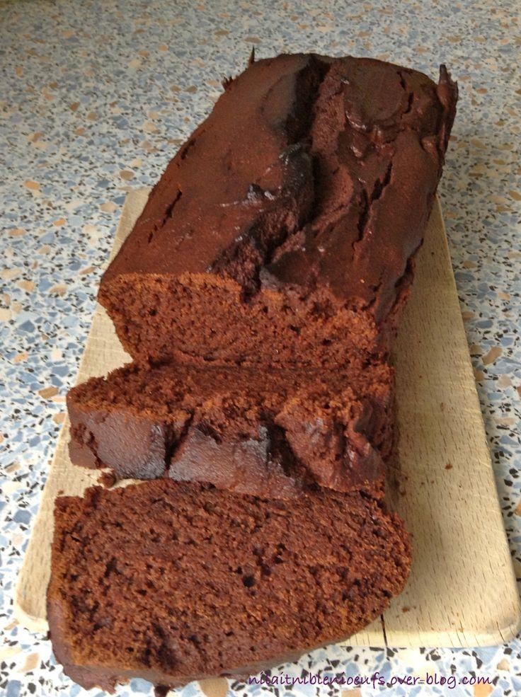 Voici une très bonne recette de cake, la texture n'est ni sèche, ni trop compacte et on retrouve le bon goût du chocolat! bref, chez nous ce cake n'aura jamais tenu plus de 24 heures... avis donc aux gourmand(e)s... 150 gr de farine de riz complète (pour...