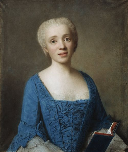 Marie Rose de Larlan de Kercadio de Rochefort, marquise de Nétumières, 1750 by Jean-Etienne Liotard