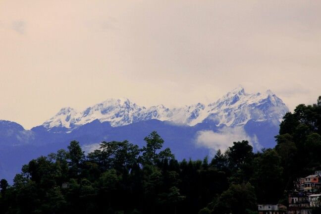 Mt. kanchenjunga from Himali Guest House 8.5 mile