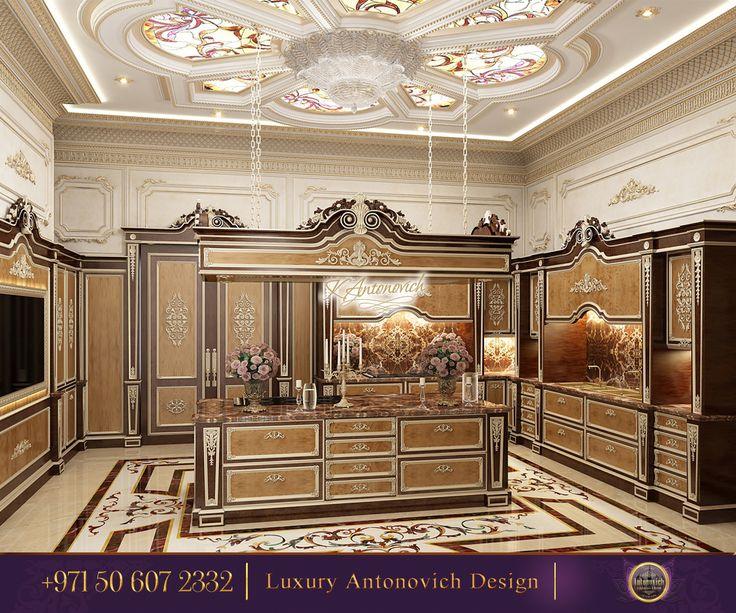 45 best elegant kitchens from antonovich design images on for Kitchen design qatar