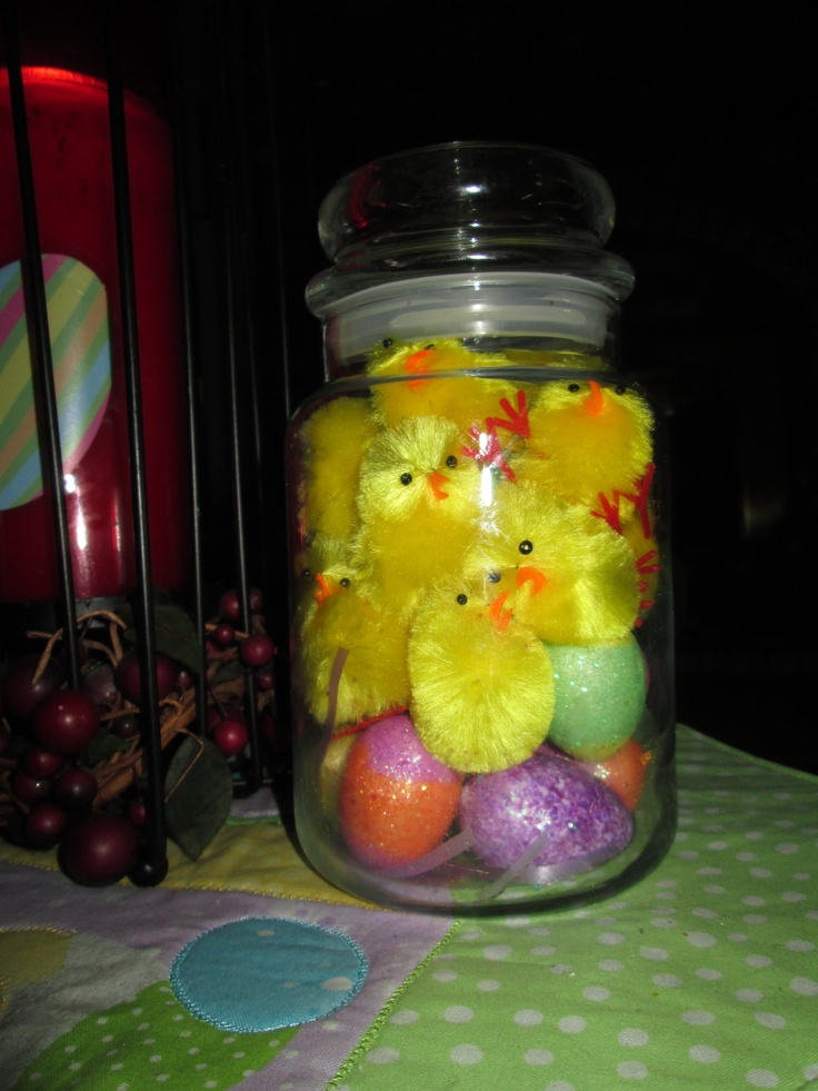 Jar of peeps!!: Candle Scents, Peeps, Jars