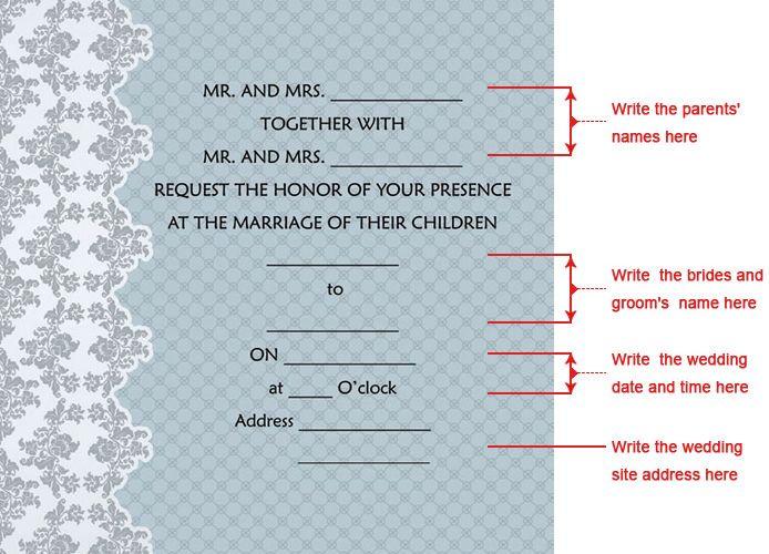 Classic Luxury Folded Wedding Invitation With Heart Cutout (Set of 50) - USD $ 59.99