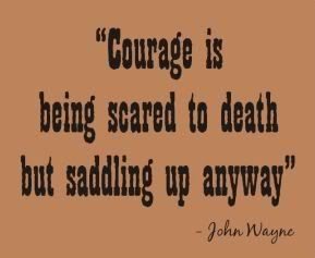 Great, but John Wayne never said it.