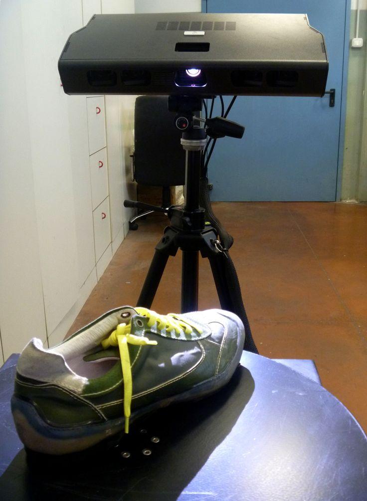 Scansione con fotocamera 3D