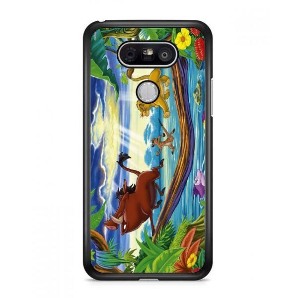 Timon Pumbaa And Simba LG G6 Case   Casefruits