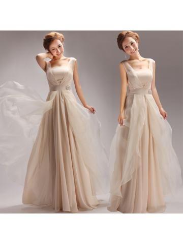sexy a-linje chiffon formelle kjoler