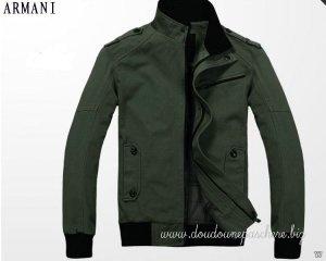 Doudoune Armani Homme Blouson 2012 Original Tout En Vert
