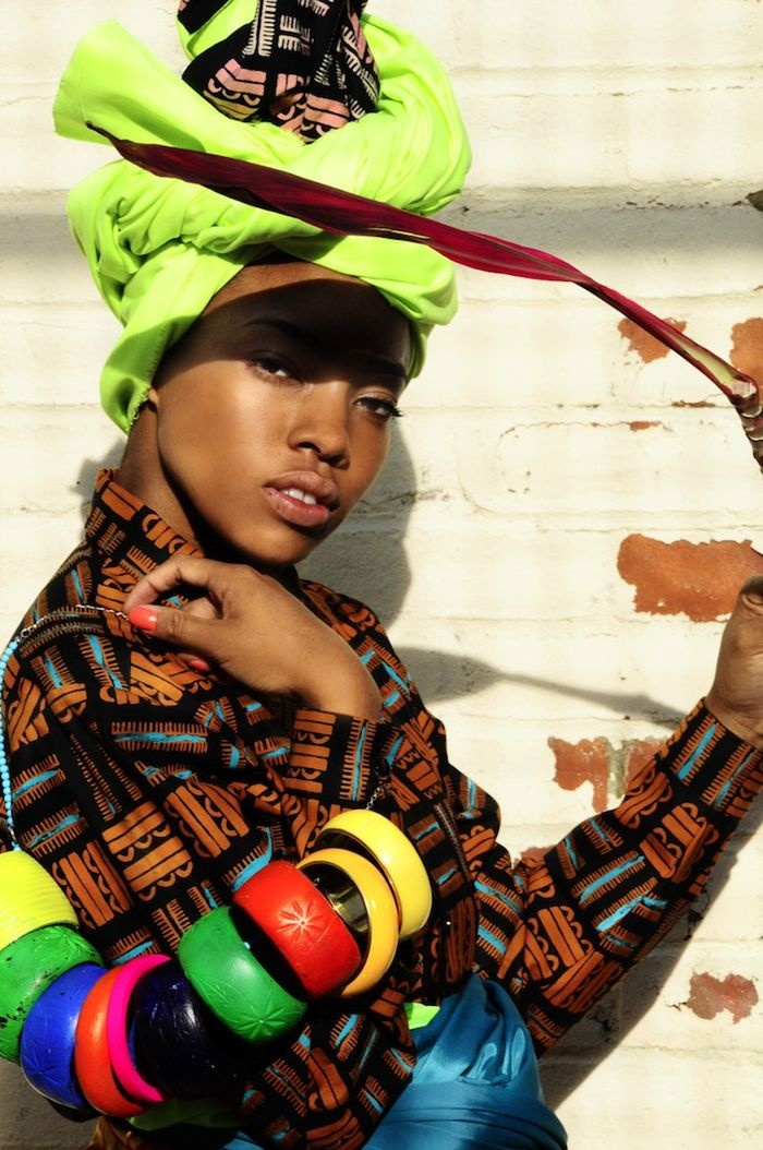 From Kezia Frederick's collection, a combination of traditional Nigerian dress and street-derived fashion45 African Inspiration, African Fashion, Head Wraps, Kezia Frederick, African Inspiration Finding, Blog, African Style, Bold Colors, African Design