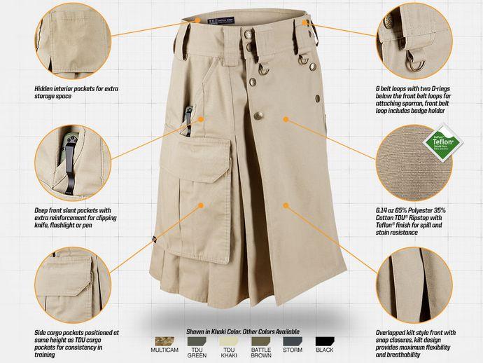 5.11 Tactical Skirt (courtesy 511tactical.com)