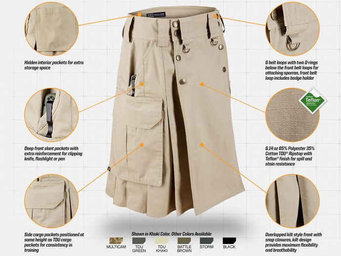 5.11 Tactical Skirt (courtesy 511tactical.com)
