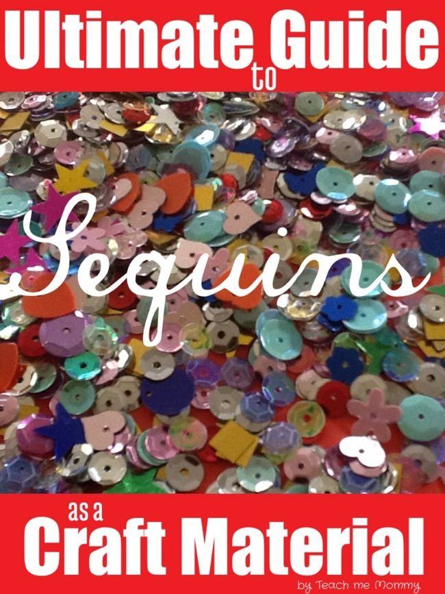 Ultimate guide to crafting with Sequins    i'm feeling like this could be the summer of sequins...get ready.