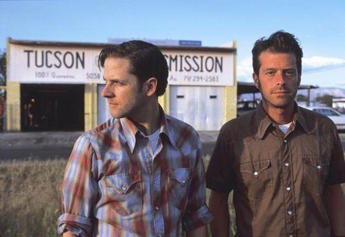 Joey Burns & John Convertino - Calexico. My all time favorite band.