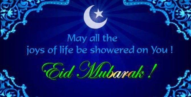 Eid mubarak to my fellow muslims