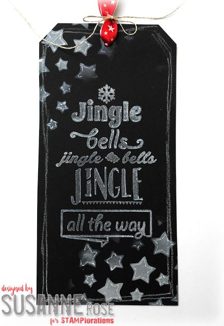 Susanne Rose Designs: Chalkboard Tag