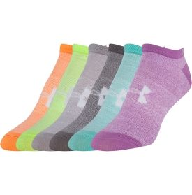 Under Armour Women's No Show Liner Sock 6 Pack - Dick's Sporting Goods