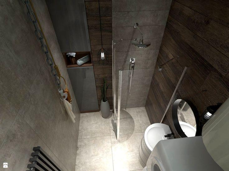 Łazienka styl Industrialny - zdjęcie od Inside Outside Design - Łazienka - Styl Industrialny - Inside Outside Design