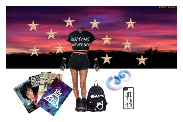 """""""Emo to the Max"""" by abeanfromouterspace on Polyvore featuring art"""