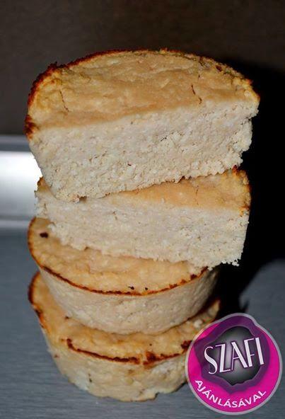 Éhezésmentes Karcsúság Szafival: Almás-citromos muffin (light paleo muffin recept)