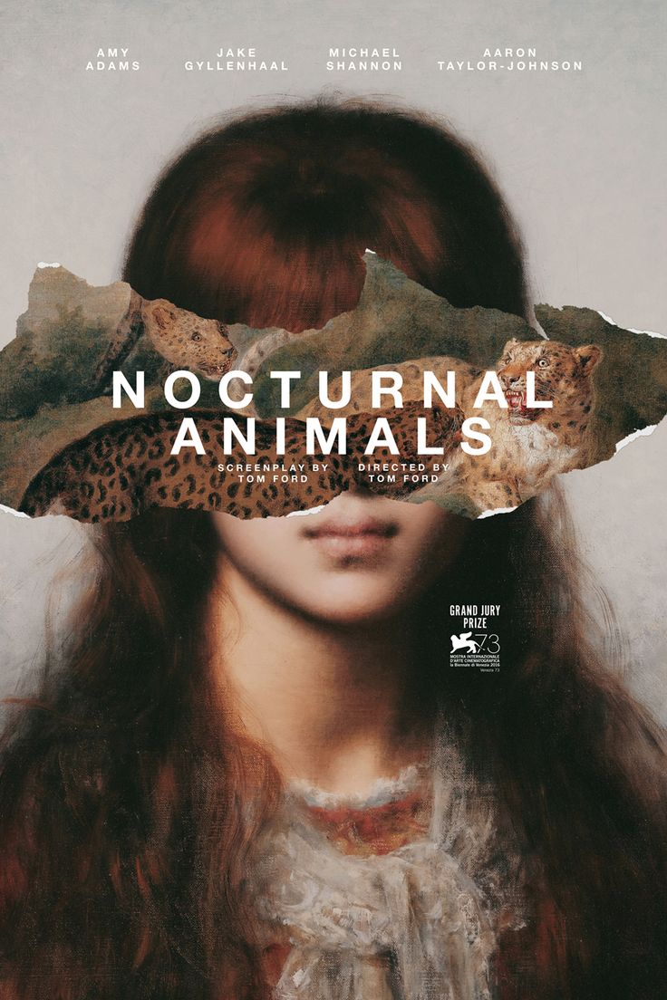 """midmarauder: """"Newly Commissioned Poster for Tom Ford's Nocturnal Animals. MM """""""