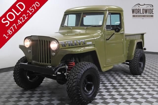 Willys Jeep 1948 Vin 1mb23737 Worldwide Vintage Autos