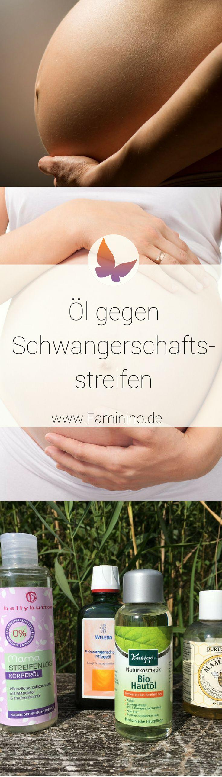 Öl gegen Schwangerschaftsstreifen: Was hilft wirklich?