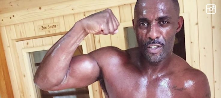 Edris Elba Gets Ripped Training For Upcoming Boxing Match!  Yeeeessss🙌😍