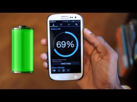 Droid Phone Battery Saving Tips - 8 tricks to reduce battery drain - YouTube