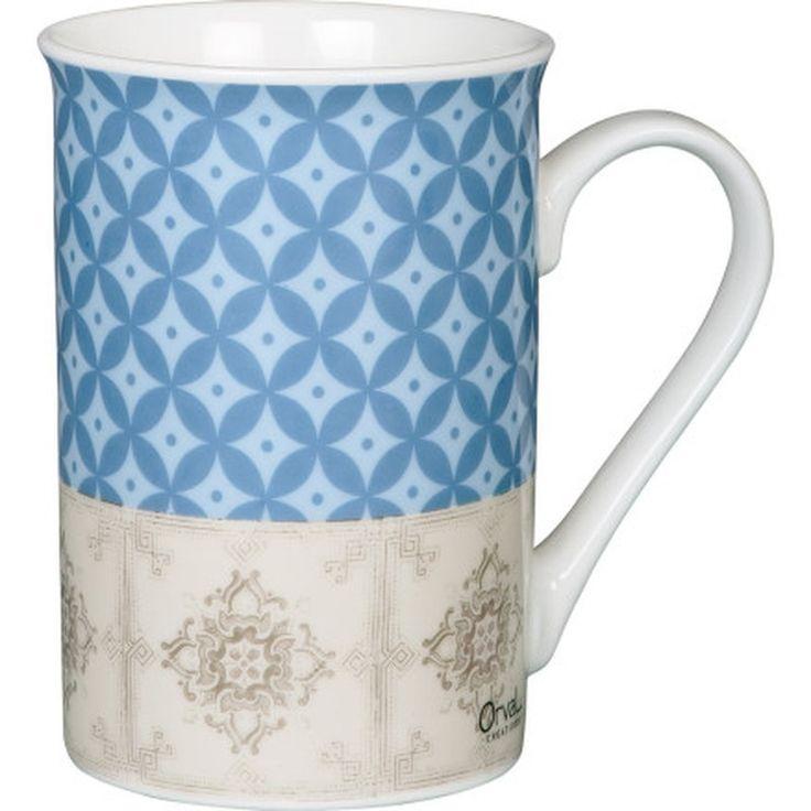 """Mug de la collection """"Héritage Authentique"""" de chez Orval Créations."""