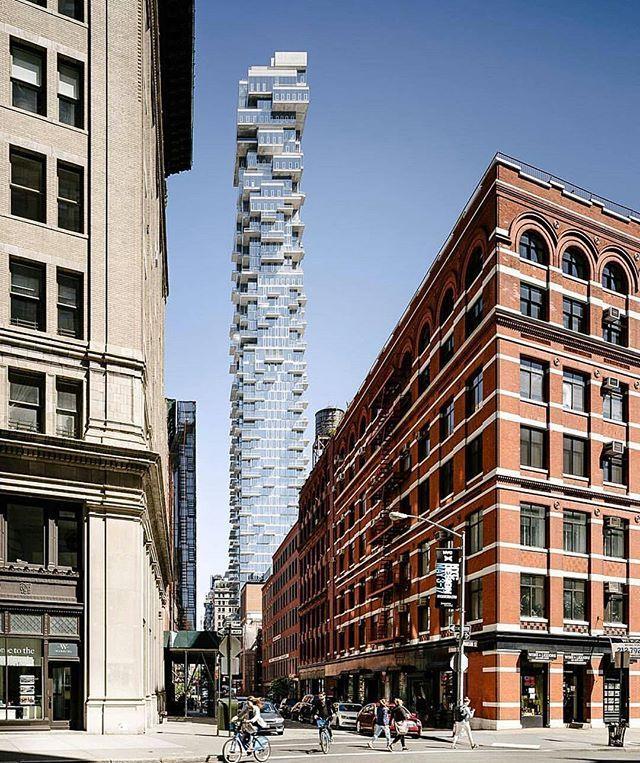 56 Leonard Street #bldgNYC  Photo // @_as__ap_ Architect // @herzogdemeuron  Location // 56 Leonard Street