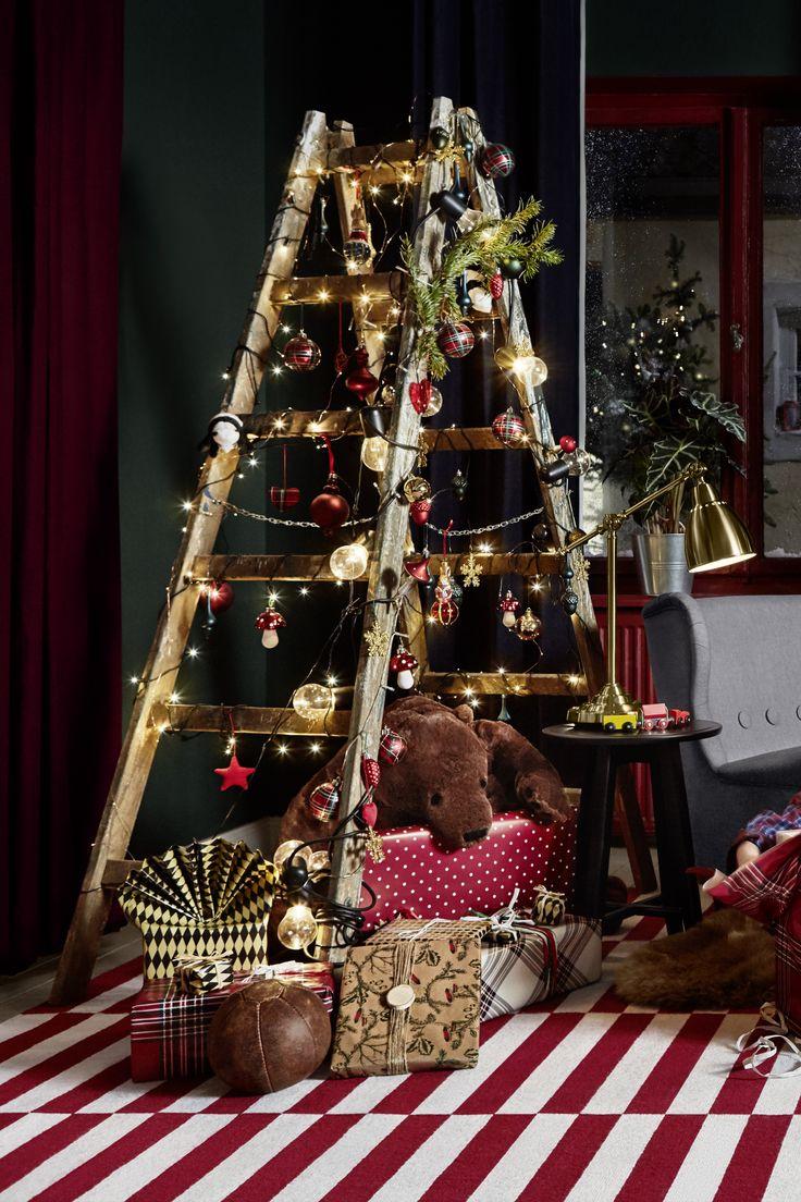 weihnachten weihnachtsbaum weihnachtsleiter. Black Bedroom Furniture Sets. Home Design Ideas
