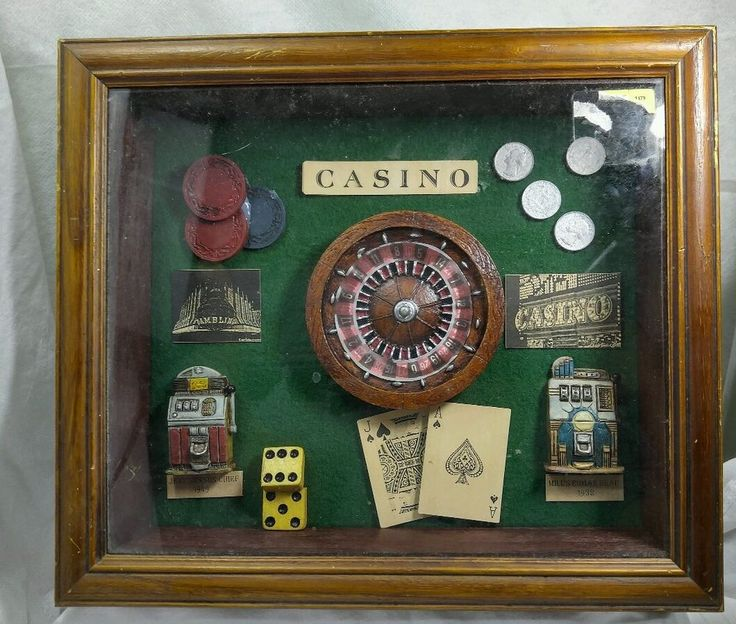 slot machines antique 20th century decades casino theme wooden framed shadow box traditional. Black Bedroom Furniture Sets. Home Design Ideas