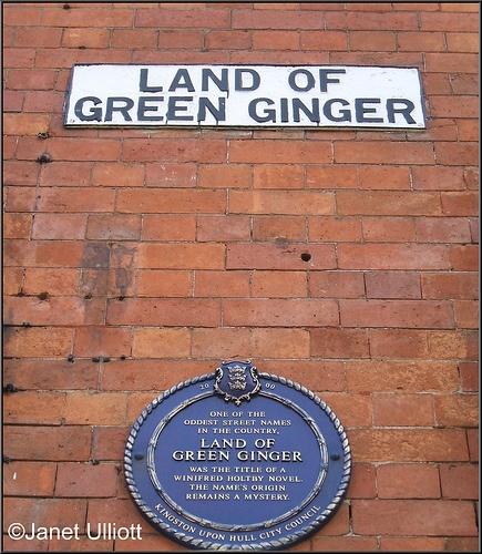 Land of Green Ginger, Hull, via Flickr.