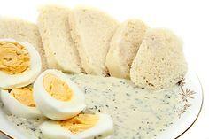 Koprová omáčka s vejcem