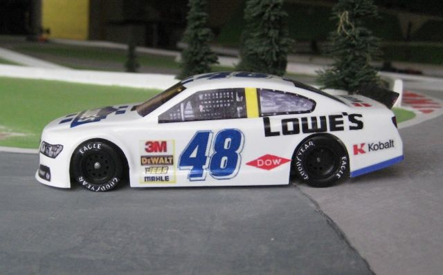 Lowes No 48 Chevy 1/32 scale Magracing car.