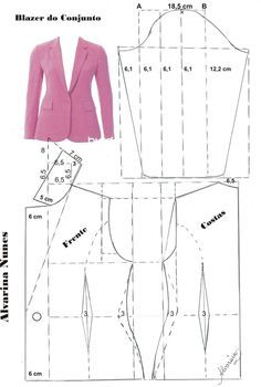 Blazer pattern