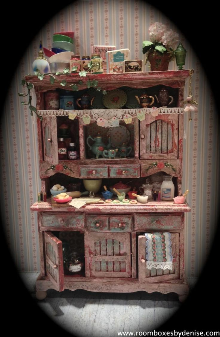 276 best hutches images on pinterest dollhouses dollhouse