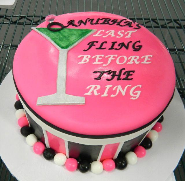 Bachelorette Cake Images