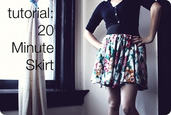 20 min skirt.