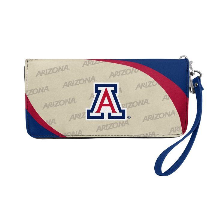 NCAA Arizona Wildcats Curve Zip Organizer Wallet, Adult Unisex