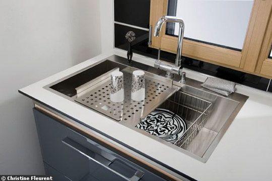 evier Lapeyre 859 euro 6 idées pour une cuisine ouverte et actuelle - Côté Maison