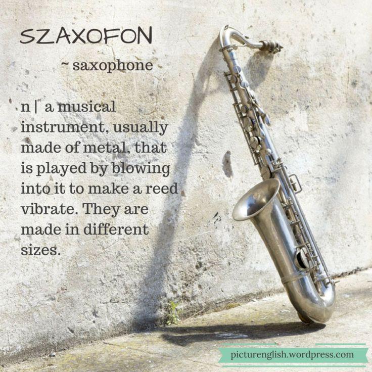 Saxophone / Szaxofon