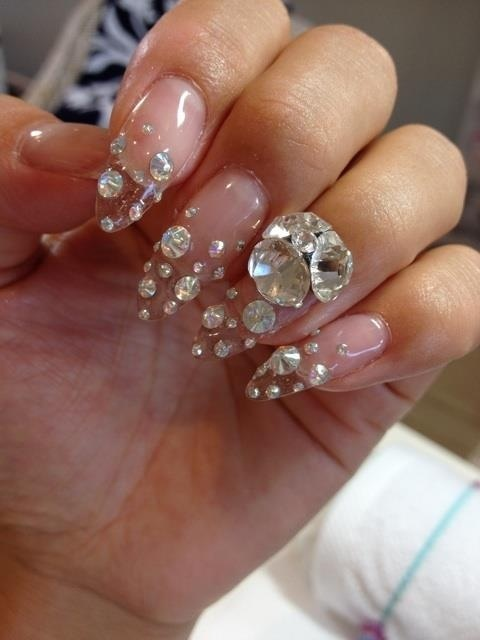 30 best nails images on pinterest beach crafts and enamels nail design diamond prinsesfo Image collections