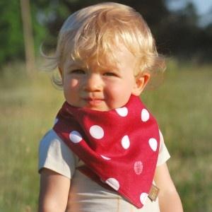 Zebi Baby  Kerchief Bib