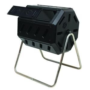 Tumbling Composter with Two Chambers for Efficient Batch Composting, IM 4000 at The Home Depot - Mobile