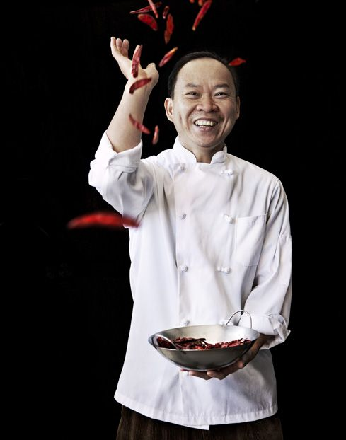 Find him if you are in Richmond! Photo Credit: Squire Fox. Chef Peter Chang in Richmond, Virginia.