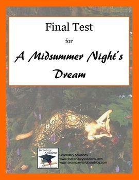 Final test for hamlet essay
