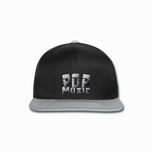 Pop Music Cap - Snapback Cap