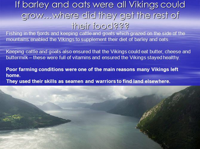 Viking farms/ food - Introduce pupils to Viking farms and what the Vikings ate - includes a Viking menu.